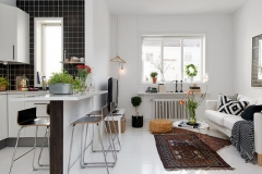 Stunning Small Living Room And Kitchen Design Combo Ideas Small House Design as well as Small Living Room Ideas With Kitchen