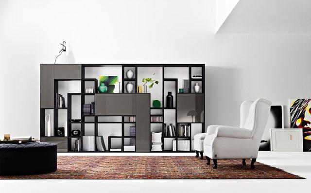 Modele De Biblioteci Moderne Pentru Living Idei Amenjari Home Deco
