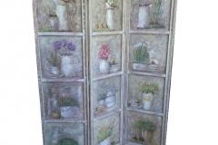 paravan-decorativ-vintage-lemn