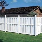 Gard din PVC