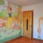Tapet Alba-ca-Zapada, tapete pentru copii