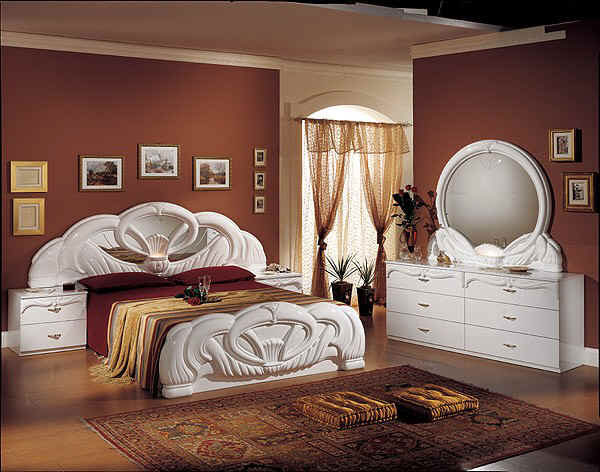 dormitor in stil italian