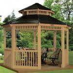 Pavilion gradina, il construim sau il cumparam?