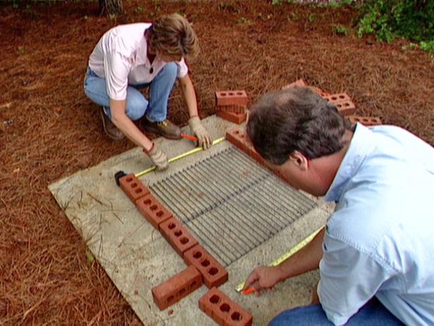 Construirea unui gratar de gradina