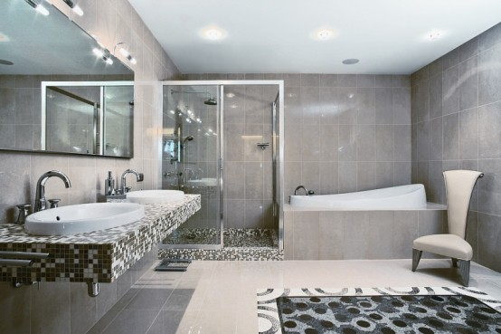 Bai moderne de apartament idei amenjari home deco for Best bathroom designs in south africa