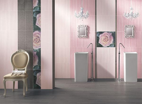 baie feminina roz