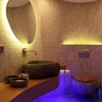 Iluminatul in baie