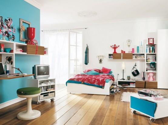 model dormitor fete