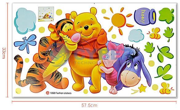 sticker pooh