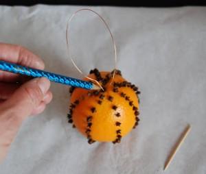 Decoratiuni de Craciun Handmade - portocala 4