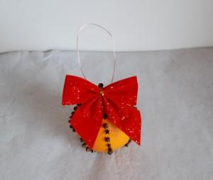 Decoratiuni de Craciun Handmade - portocala 5