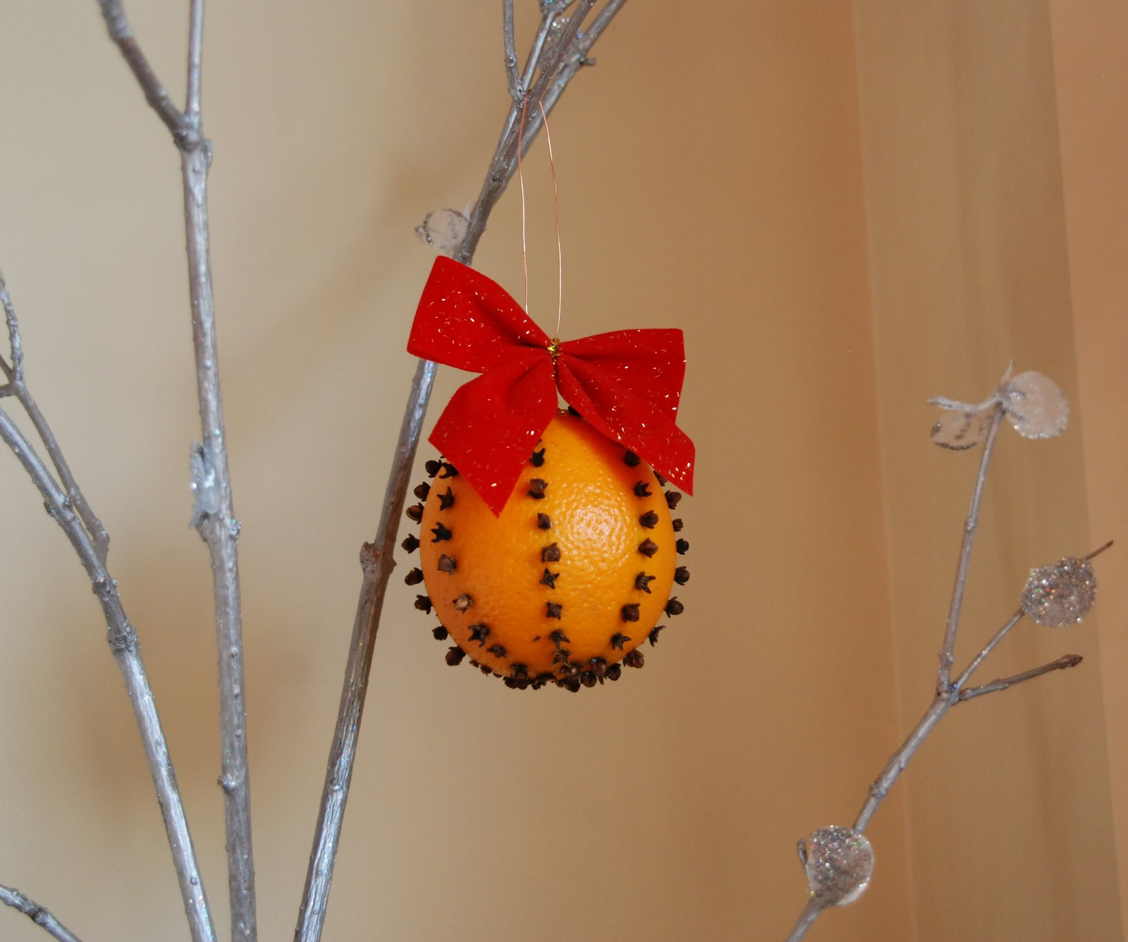 Decoratiuni de Craciun Handmade - portocala