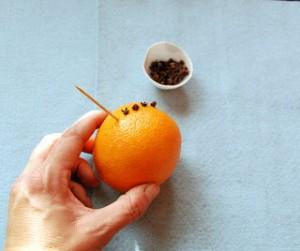 Decoratiuni de Craciun Handmade portocala