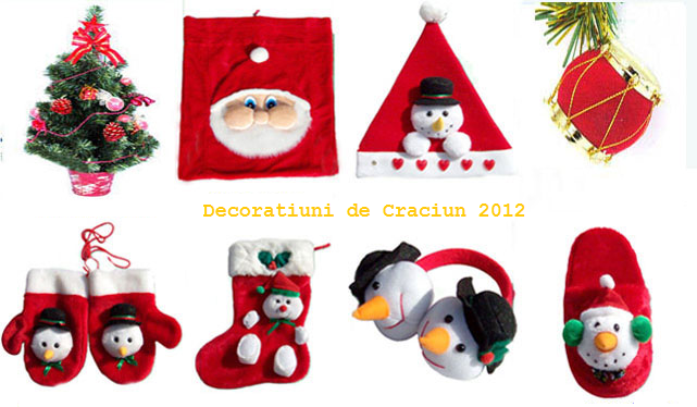 decoratiuni si ornamente de craciun 2012