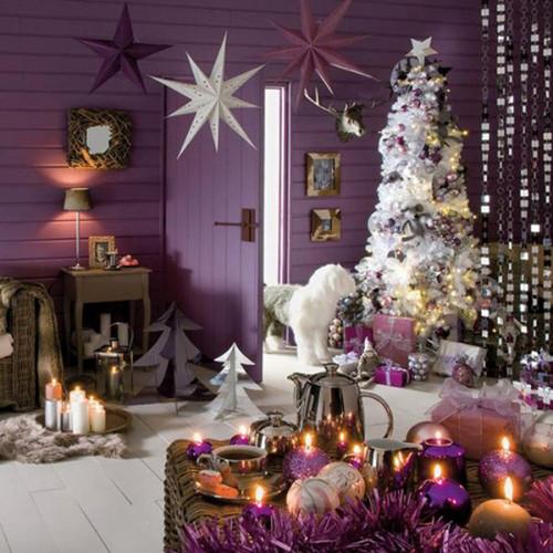 Beautiful Christmas Decorations For Your Living Room: Cum Decoram Livingul De Craciun?