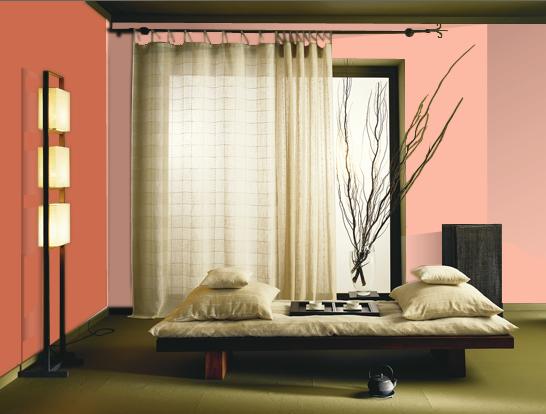 dormitor roz cu rosu