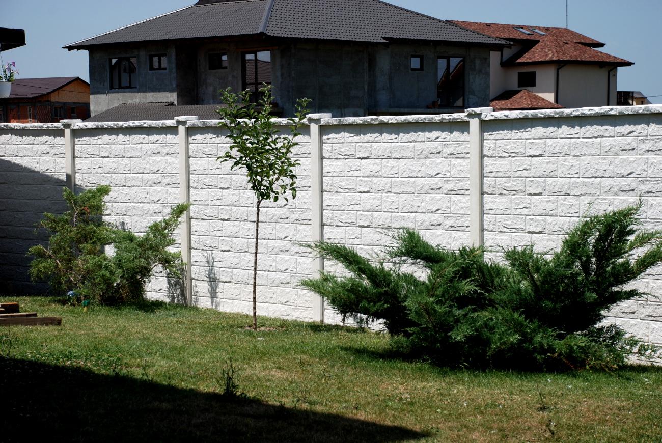 amenajarea unui gard de beton idei amenjari home deco. Black Bedroom Furniture Sets. Home Design Ideas