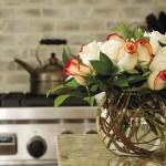 Decorarea casei cu flori