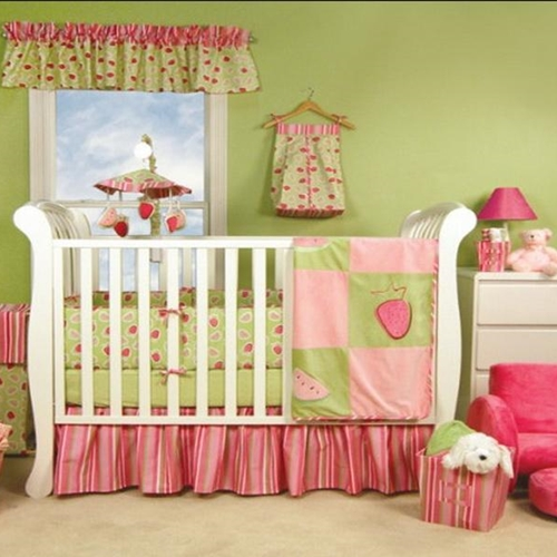 baby room coloured