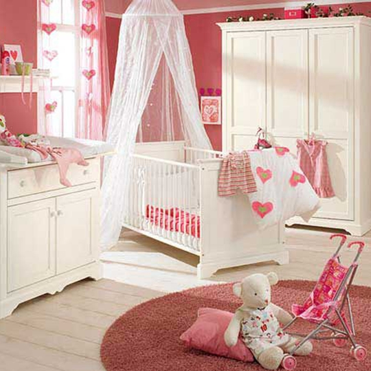 girls room pink