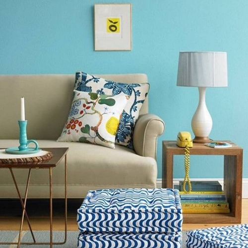 living-room-beautiful-blue-lving-room-ideas-with-wonderful-soft-blue-paint-walls-decoration-with-sectional-upholstery-gray-couch-plus-white-floral-printed-cushion-with-metal