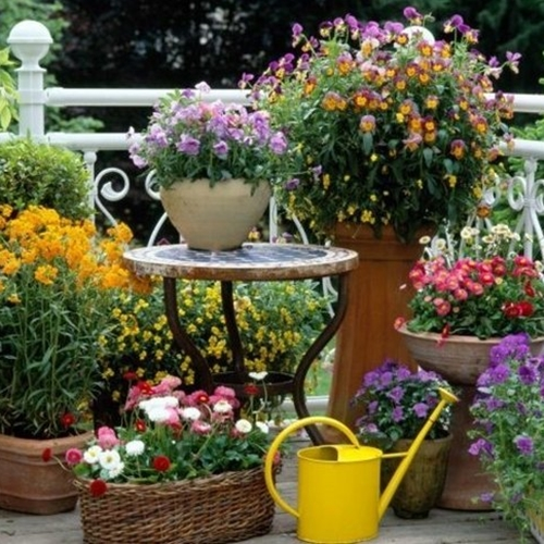 beautiful-balcony-garden-small-balcony-ideas-flower-pots-small-table