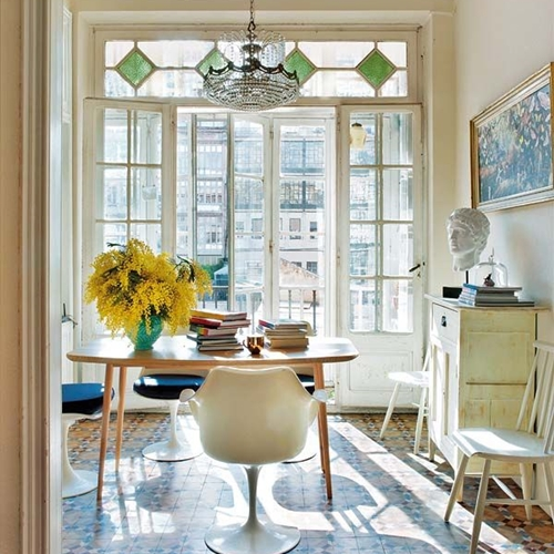 fereastra sticla verde