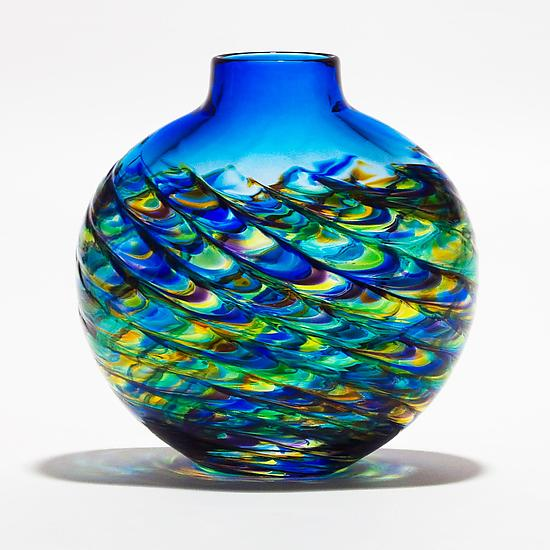 vaza sticla colorata