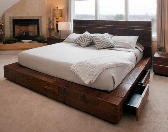 model dormitor pat