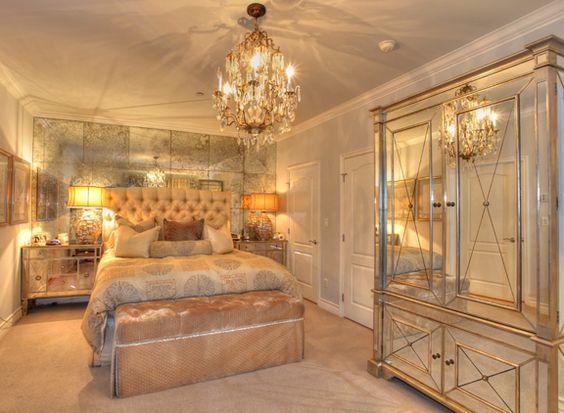 amenajare dormitor oglinda