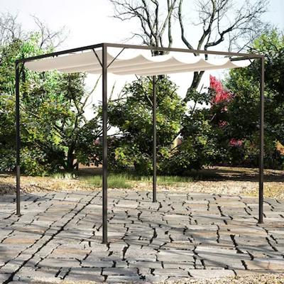 Pavilion-foisor de-gradina-cu-acoperis-retractabil